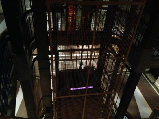 Abode Glasgow: Lift