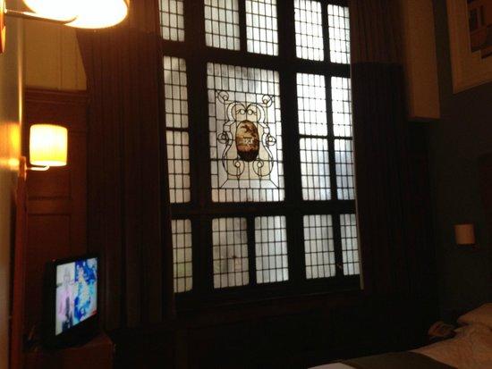 Abode Glasgow: Stained Glass Window