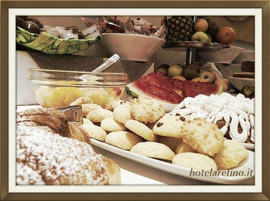 Hotel L'Aretino: Colazione dolce e salata Hotel Aretino Arezzo