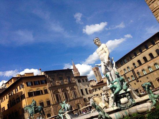 Piazza della Signoria: Площадь