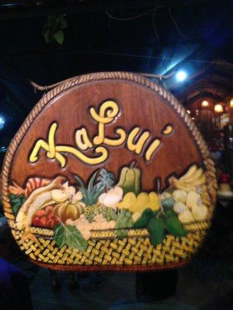 Kalui Restaurant: Entrance