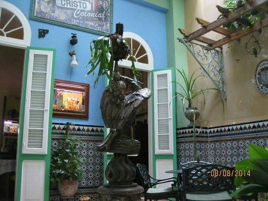 Casa Cristo Colonial: Patio