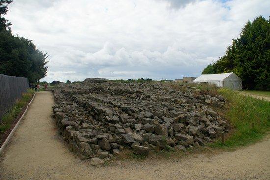 Site des Mégalithes de Locmariaque : Construcciones megaliticas de Locmariaquer