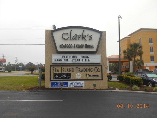 Clarks Seafood Myrtle Beach Sc