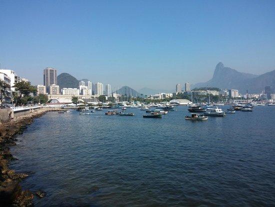 Hotelinho Urca : vista do hotel