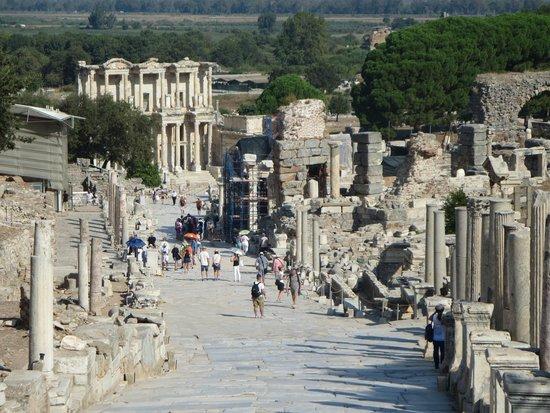 Mosaic Walkway at Ephesus - Picture of Ephesus Shuttle Day ...