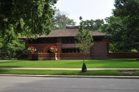 Wright Plus Housewalk: Arthur B Heurtley house