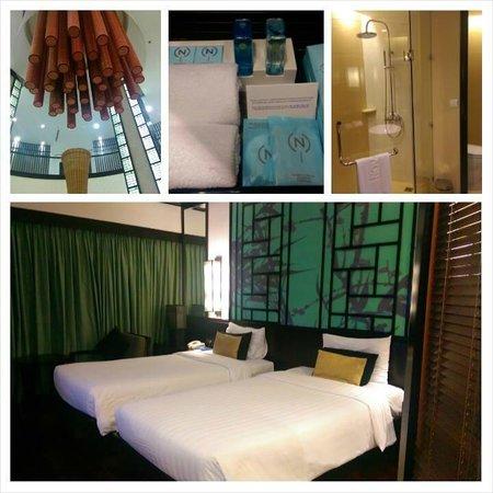 Novotel Ha Long Bay: the room and bathroom, lobby