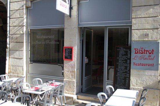 Le Bistrot de L'Amiral Restaurant