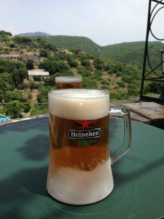 Sokraki Traditional Villas( Kapileio): Ice cold beers!