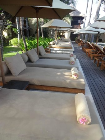 Qunci Villas Hotel: Transats