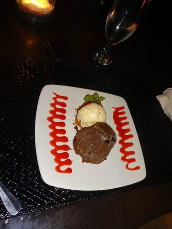 Qunci Villas Hotel: Fondant au chocolat