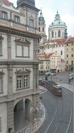 Hotel u Schnellu: Vista dalla camera....