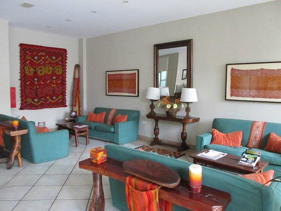 Altos de Balcarce Hotel: Hall de recepción