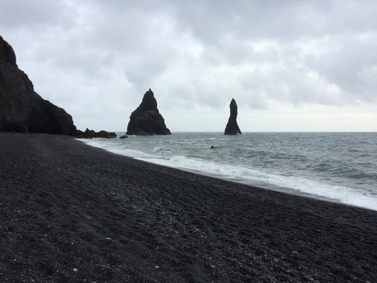 Iceland Guided Tours: Black sand beach