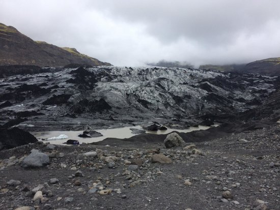 Iceland Guided Tours: The glacier we stopped at