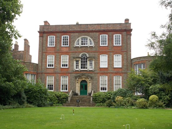 Peckover House: Rear of House