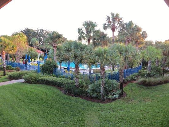 Doubletree by Hilton Orlando at SeaWorld: Vue de notre chambre