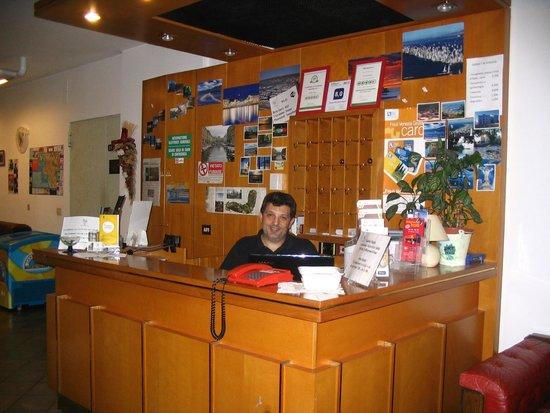 Alla Valle di Banne: Reception con il signor Marco