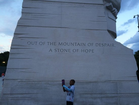 Martin Luther King, Jr. Memorial: Hope