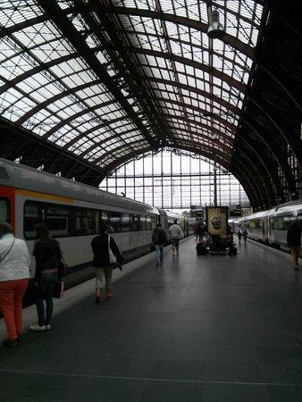 Gare centrale : my train
