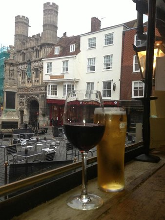 The Shakespeare Restaurant: Drinks with a view!