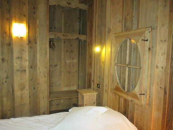 "Le Velleda Hotel Restaurant : chambre ""chalet"""