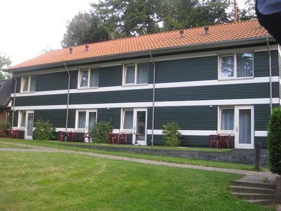 Buitencentrum de Stoppelberg: buitenzicht op de kamers