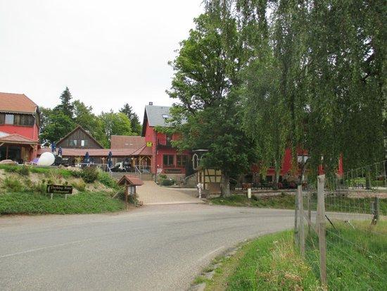 Le Velleda Hotel Restaurant : l'hôtel