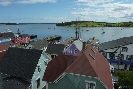 Lunenburg Arms Hotel: View from our room