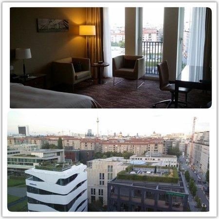 Berlin Marriott Hotel : Стандартный двухместный номер