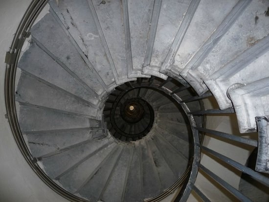 The Monument to the Great Fire of London: THE STEPS