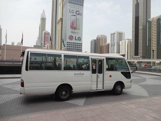 Jumeirah Emirates Towers : Navette gratuite