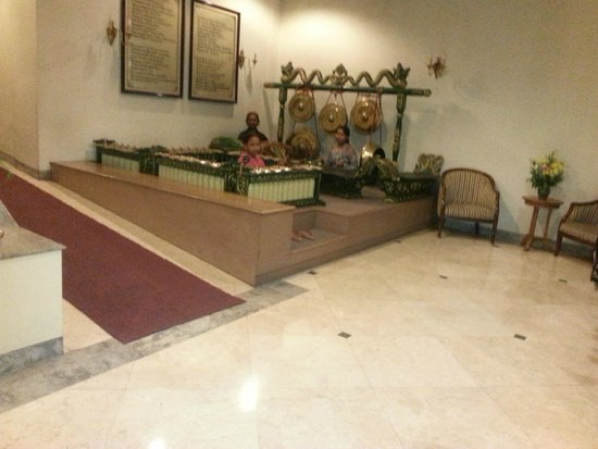 Sahid Jaya Solo: in de lobby