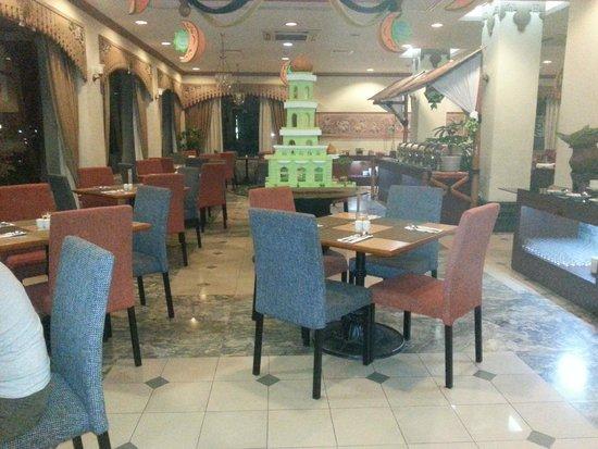 Sahid Jaya Solo: in het restaurant