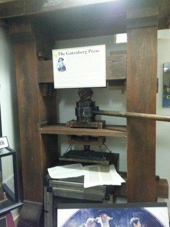 American Computer Museum: Gutenberg Press