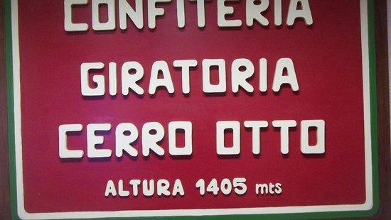 Cerro Otto: cartel