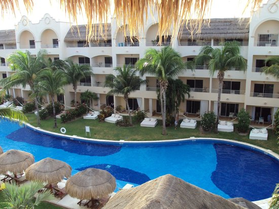Excellence Riviera Cancun From Back Of Building 9