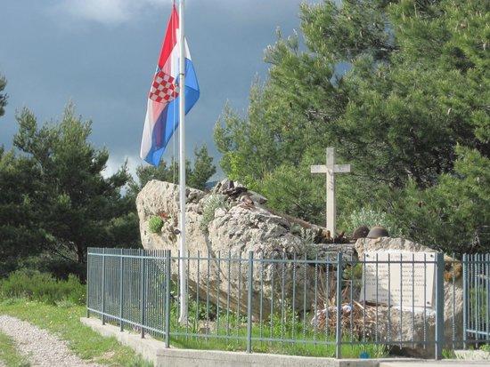 Funiculaire de Dubrovnik : poignant war memorial