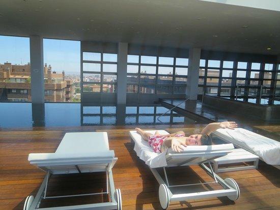 Hotel Reina Petronila : Vistas impresionantes desde el Spa