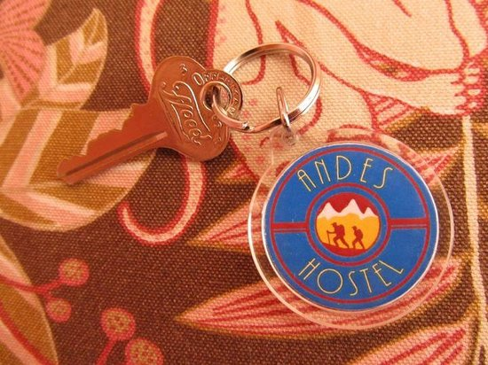 Andes Hostel: Chave