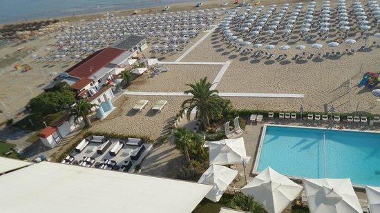 Abruzzo Marina Hotel: Dal terrazzo