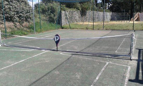 Camping La Boutinardiere : filet tennis (2)