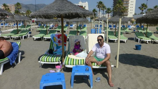 ClubHotel Riu Costa del Sol: Loved the padded loungers!