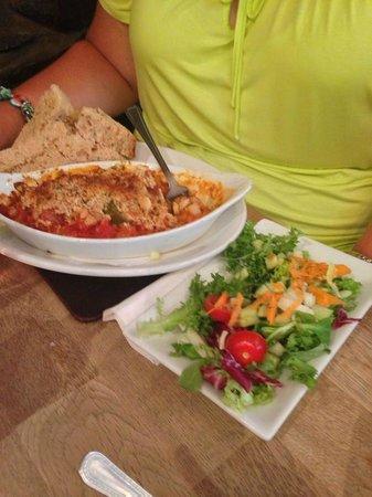 Urchins: Cajun fish dish - delicious