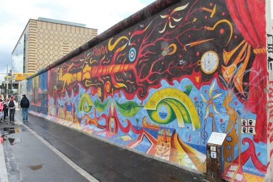 East Side Gallery: muestra de mural