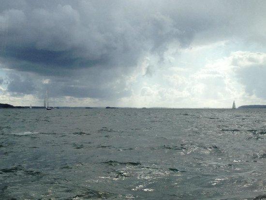 M/S Rudolfina : Il temporale..!