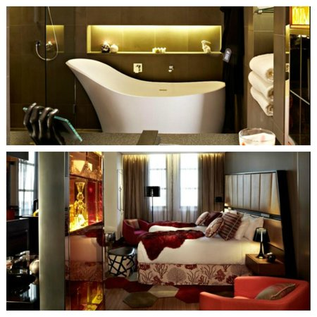 QT Sydney: Our room