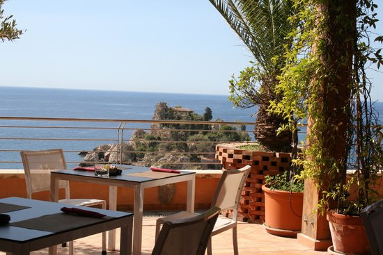 Panoramic Hotel: view from terrace