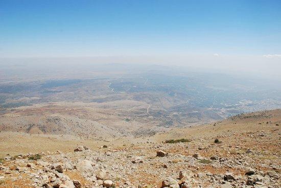 Mount Hermon : view